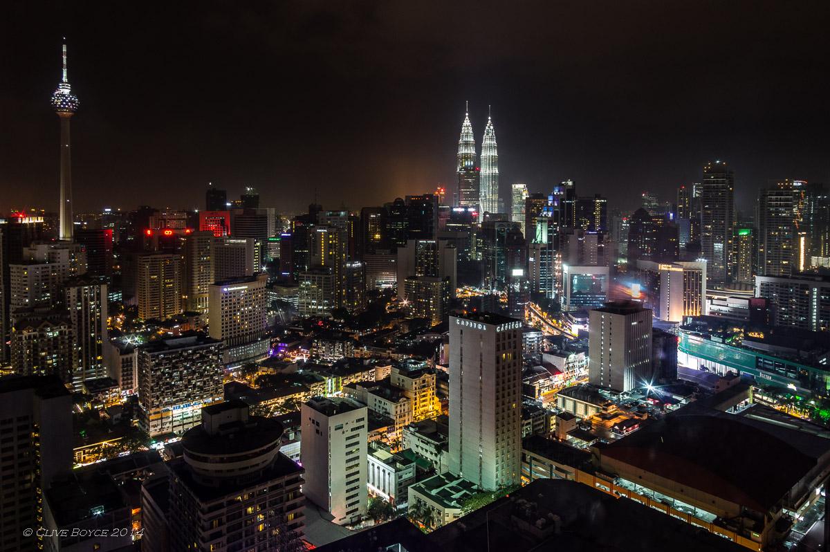 Golden triangle, Kuala Lumpur