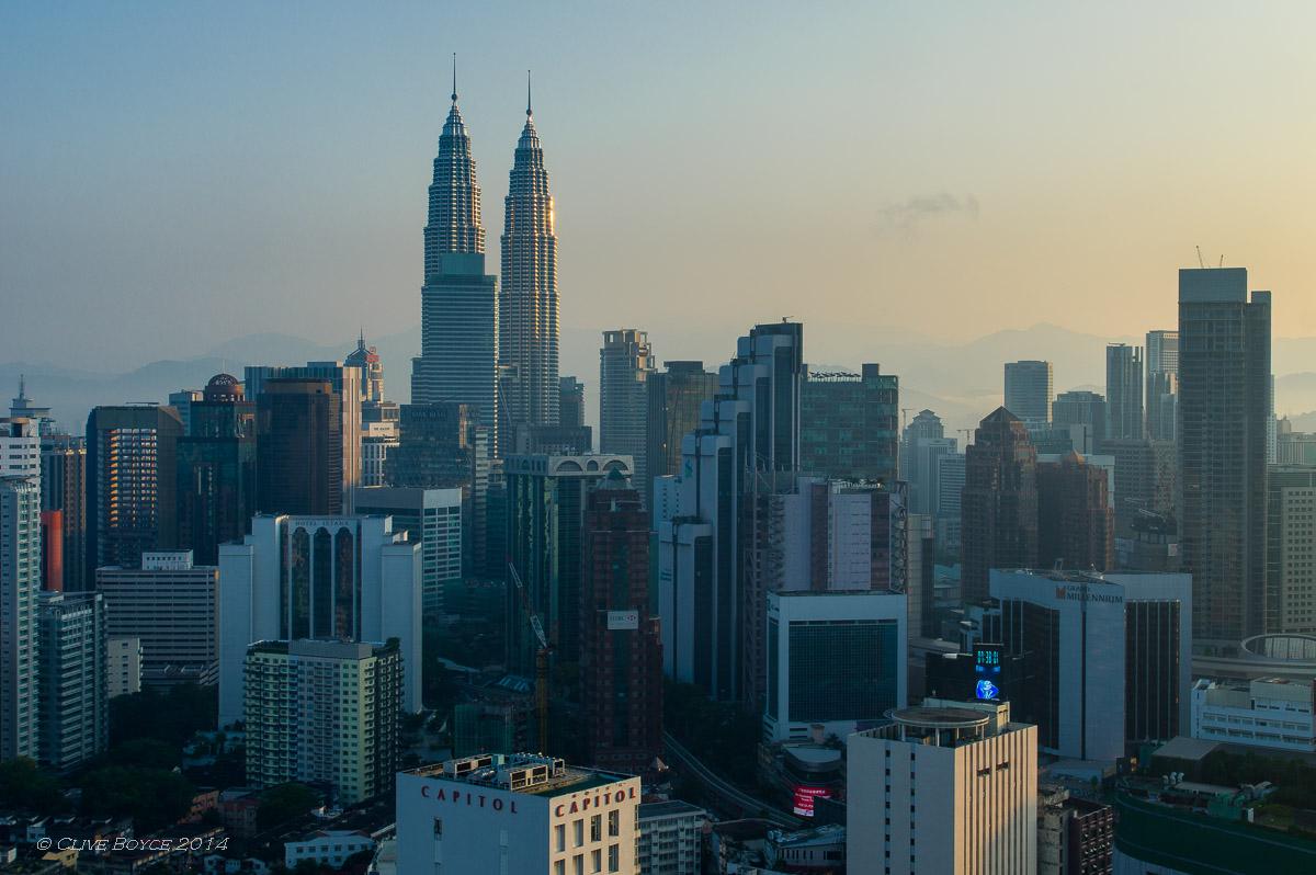 Kuala Lumpur at dawn