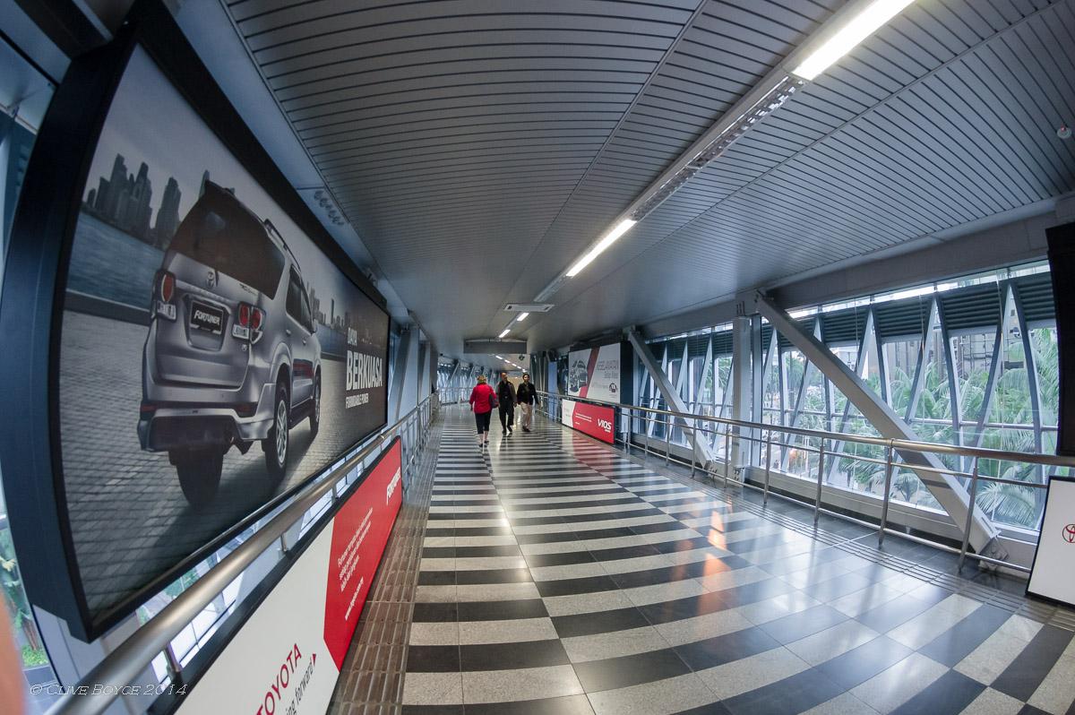 Enclosed Walkways, Kuala Lumpur