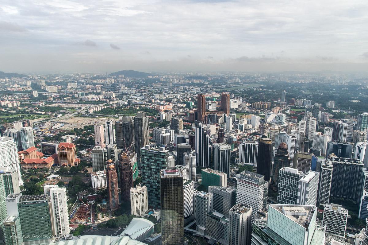 Kuala Lumpur city view