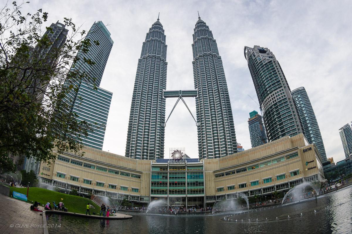 Twin Towers and Suria KLCC, Kuala Lumpur