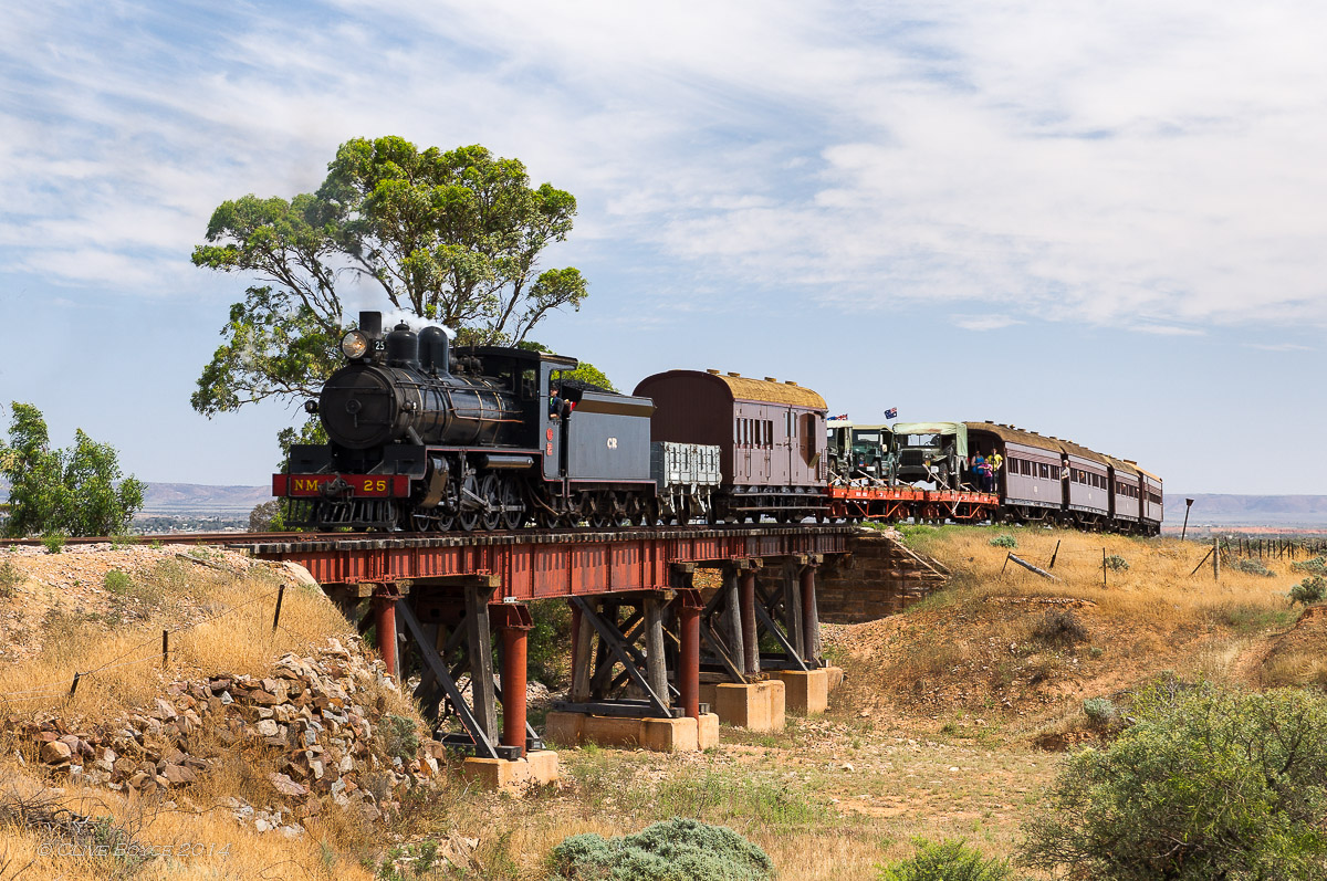 NM25, Saltia Creek, Pichi Richi Railway