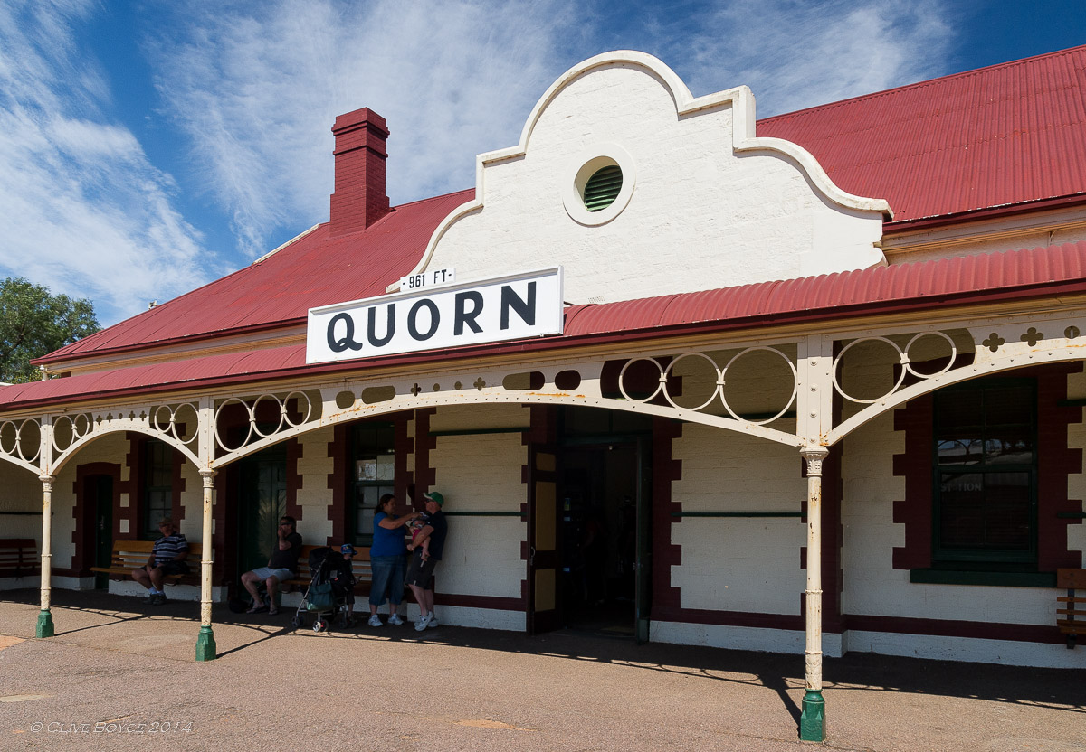 Quorn Railway Station, South Australia