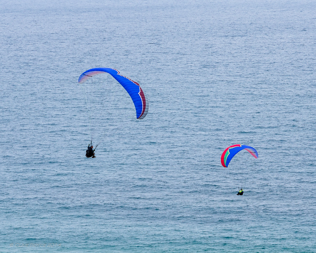Paragliding at Tungkilla