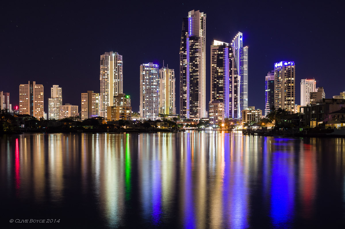 Surfers Paradise at Dusk, Gold Coast